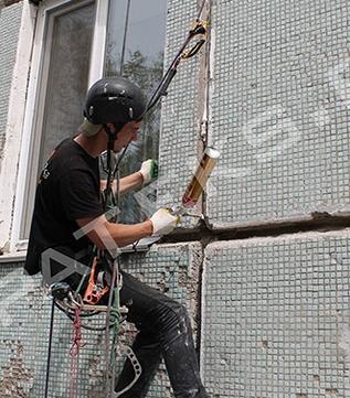 Утепление стены панельного дома пеноплексом