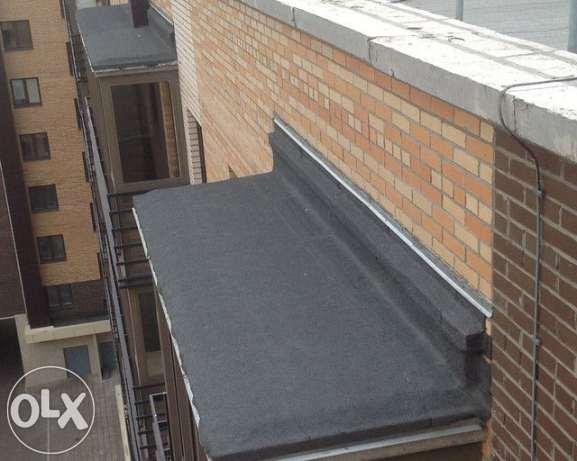 Гидроизоляция козырьков балконов самостоятельно водосток гидроизоляция обмазочная